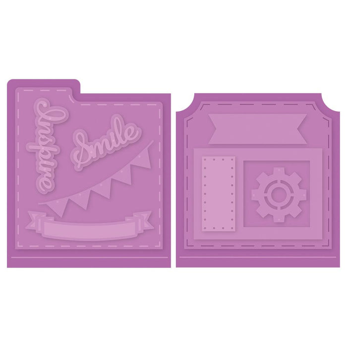 Tonic Studios Dimensions Tonic Studios - Keepsake Rotating Memoirs - Essential Accessory Die Set - 3014E