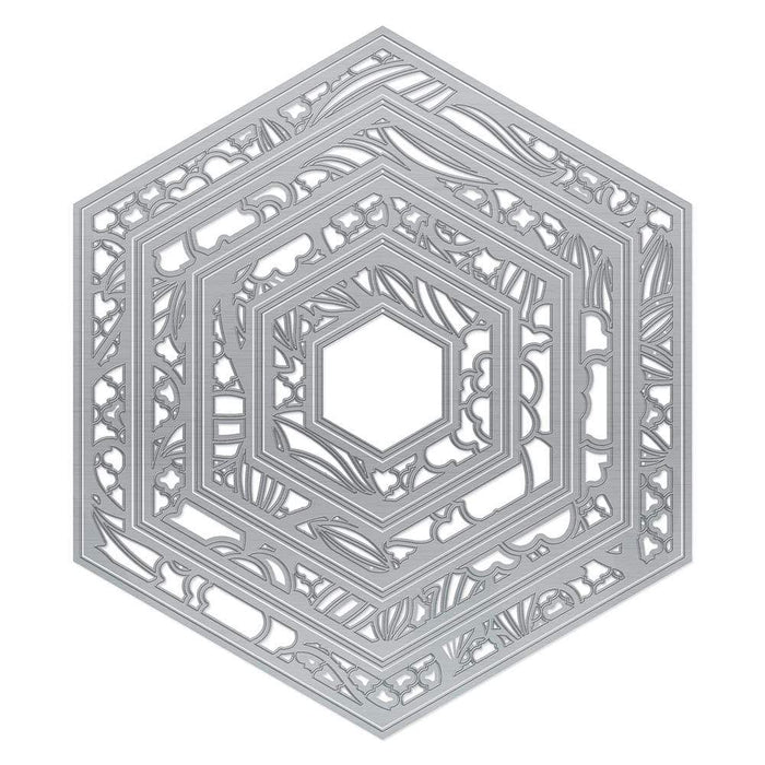 Tonic Studios Dimensions Tonic Studios - Tailored Frames - Hexagon Layering Die Set - 3464e