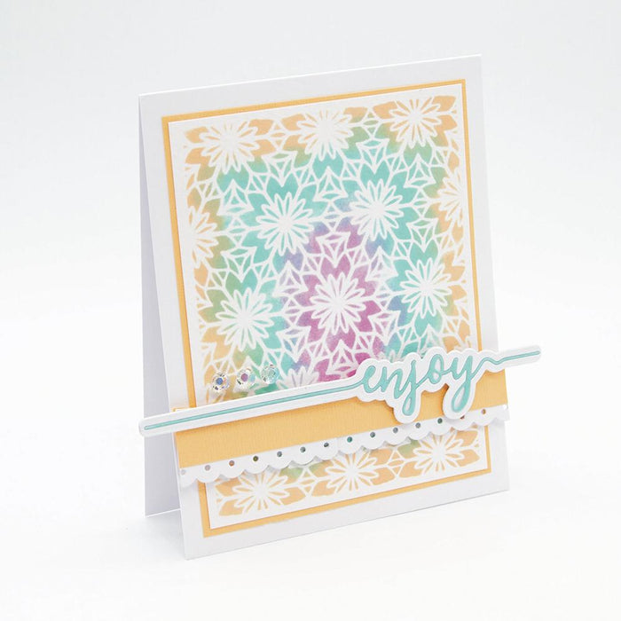 Tonic Studios Essentials Tonic Studios - Essentials - Enjoy Sentiment Strip Die - 2584E