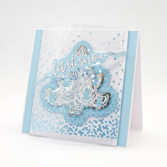 Tonic Studios Essentials Tonic Studios - Essentials - Let It Snow Sentiment Strip Die - 2851E