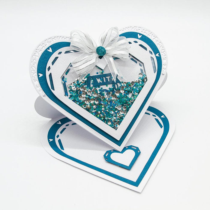 Tonic Studios Essentials Tonic Studios - Essentials - Mixed Heart Layering Die Set - 2551E