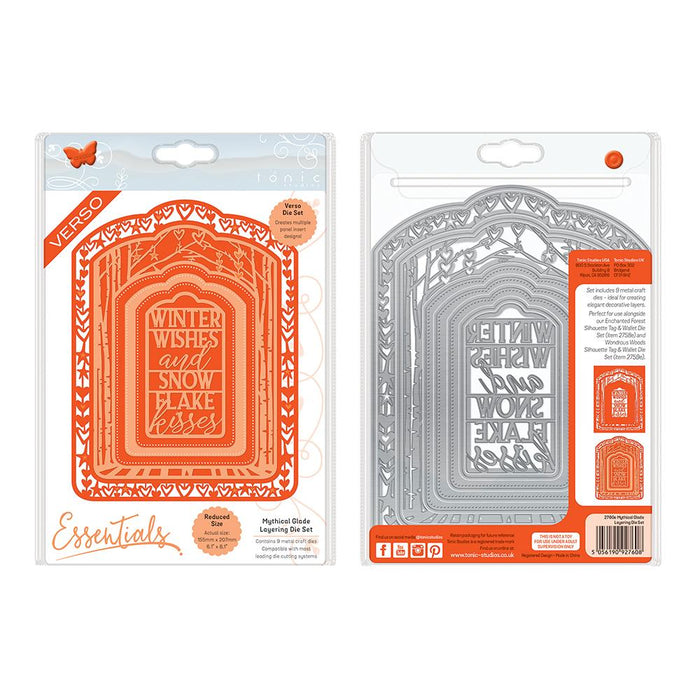 Tonic Studios Essentials Tonic Studios - Essentials - Mythical Glade Layering Die Set - 2760E