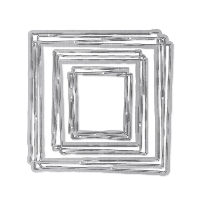 Tonic Studios Essentials Tonic Studios - Essentials - Squares Scribble Frame - 2753E