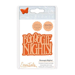 Tonic Studios Essentials Tonic Studios - Miniature Moments - Boooogie Nights! Die Set - 1862e