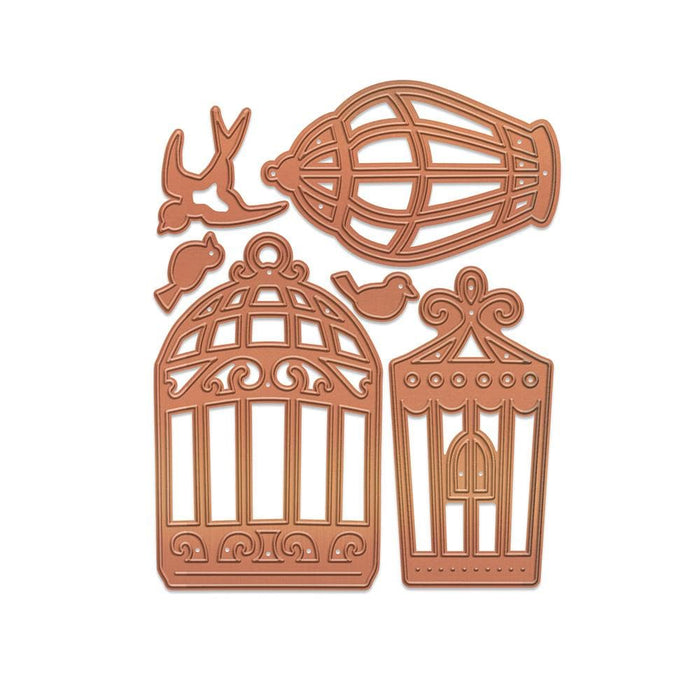 Tonic Studios Media Die Tonic Studios - Media Die - Beautiful Birdcages Media Die Set - 2650E