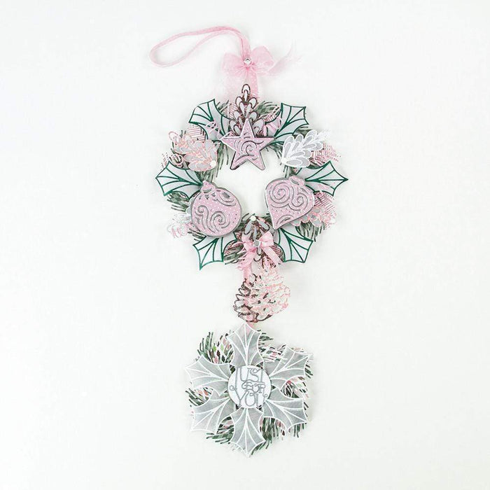 Tonic Studios Rococo Tonic Studios - Build a Wreath - Pine Cone Die Set - 1390e