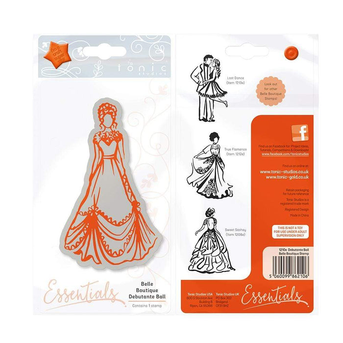 Tonic Studios Stamps Tonic Studios - Belle Boutique - Debutante Ball Stamp - 1210E