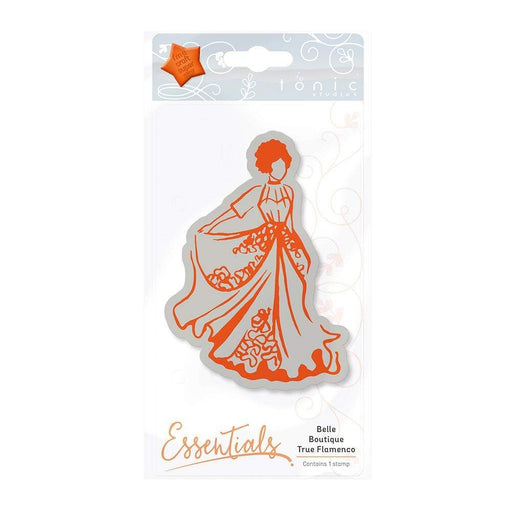 Tonic Studios Stamps Tonic Studios - Belle Boutique - True Flamenco Stamp - 1212E