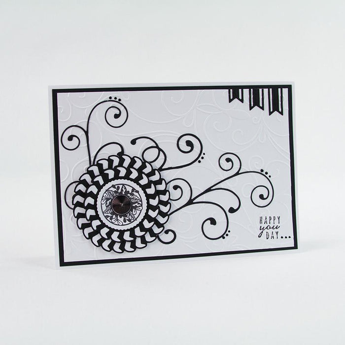 Tonic Studios Stamps Tonic Studios - Stamps - Rosette Birthday Stamp Set - 1279e
