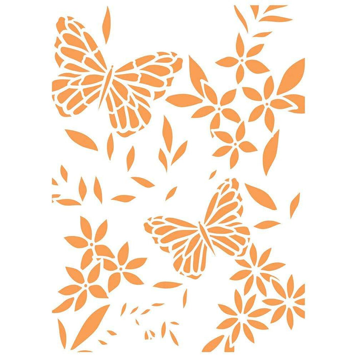 Tonic Studios Stencils Tonic Studios - Butterfly Background Stencil - 2705E