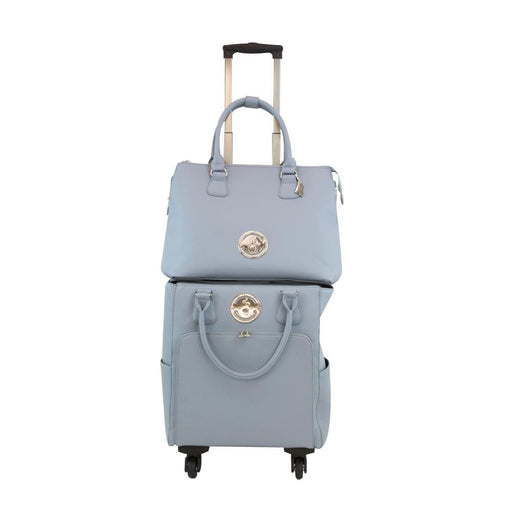 Tonic Studios Storage Tonic Studios - Luxury Storage - Handbag & Roller Set - Balmoral Blue - 2997E