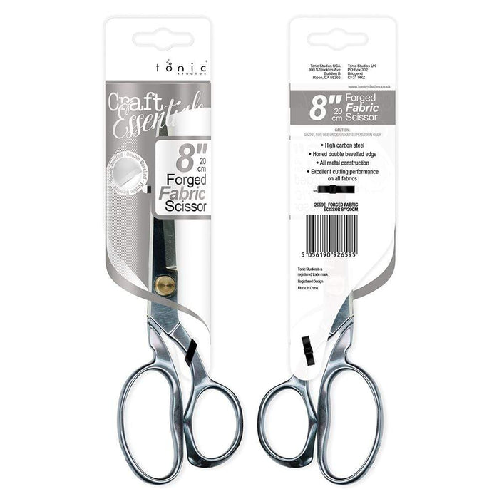 "Tonic Studios Tools Tonic Studios - Scissors - Forged Fabric Scissor 8""/20cm - 2659e"