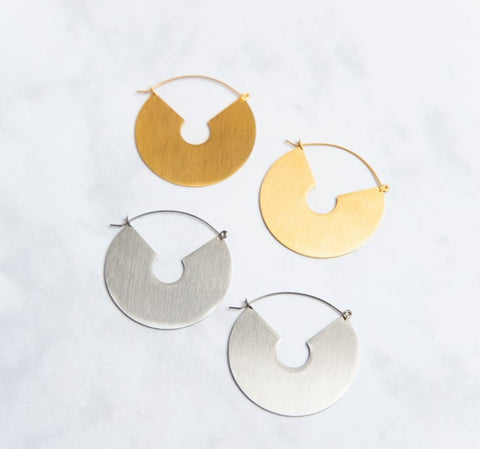 statement earrings that work well with casual looks