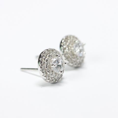 classic minimal stud earrings