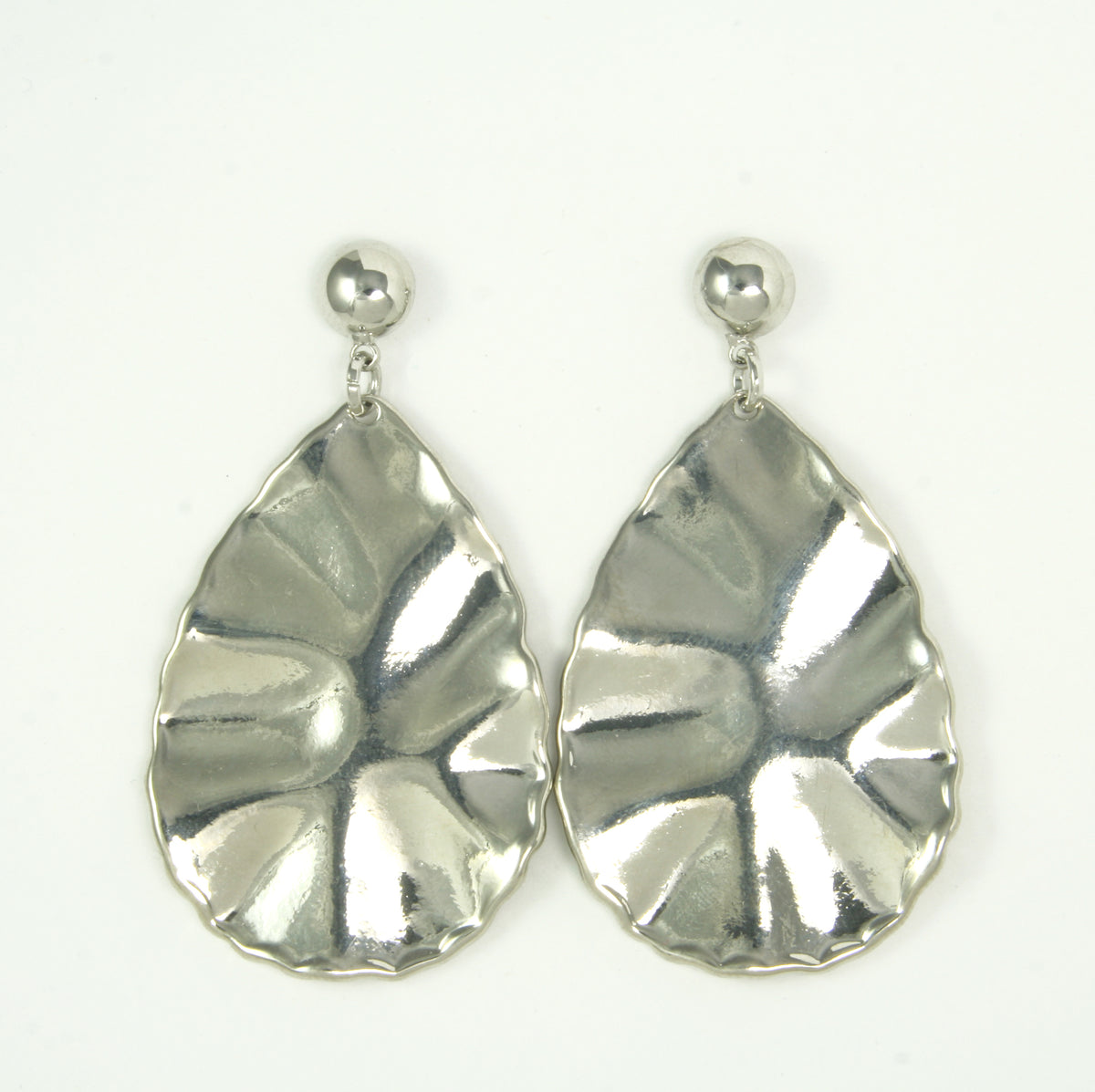 Silver Statement Earrings