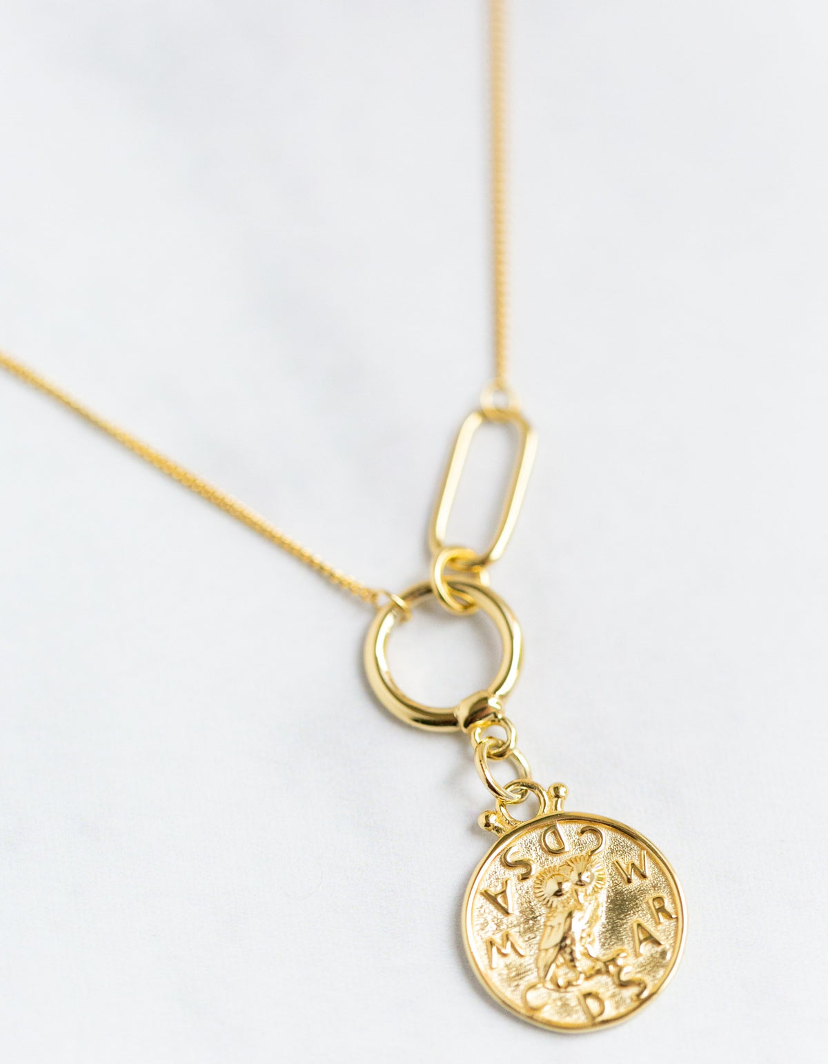 Layla Gold Coin Necklace