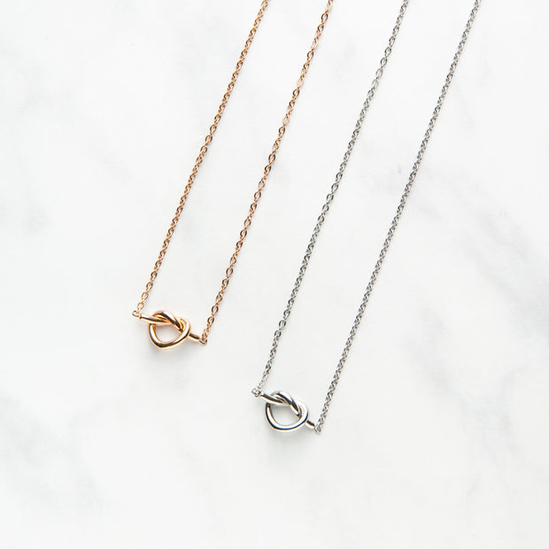 Love Knot Necklaces