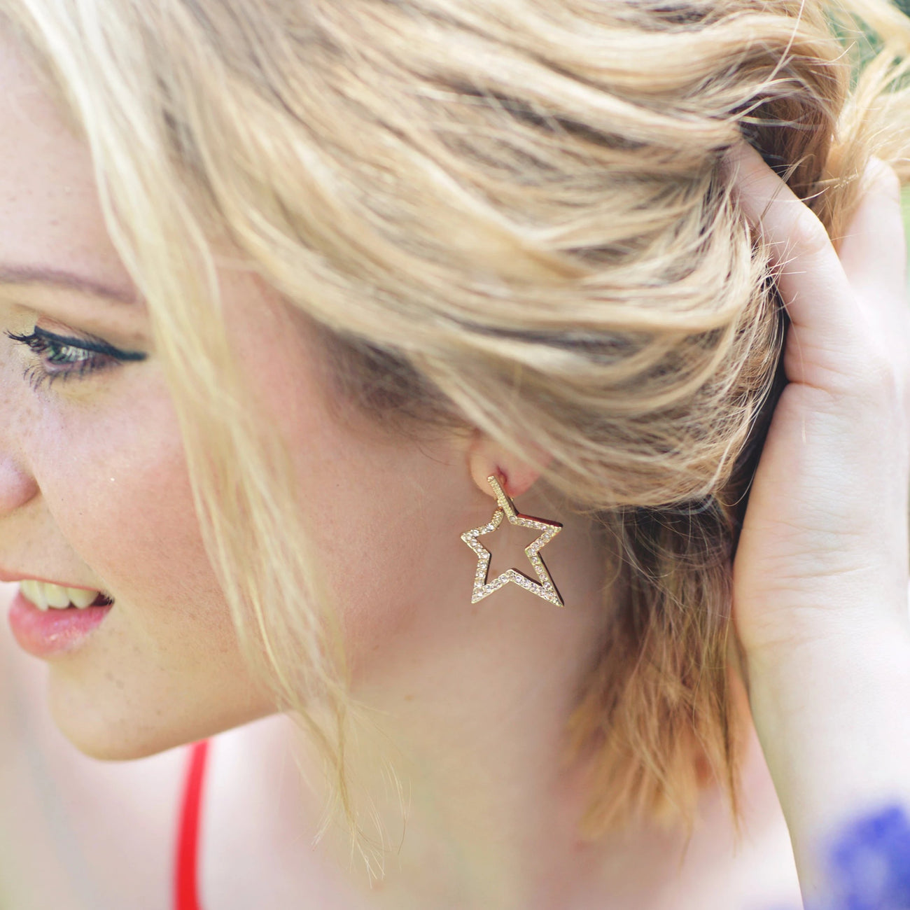 Star Shaped Earrings