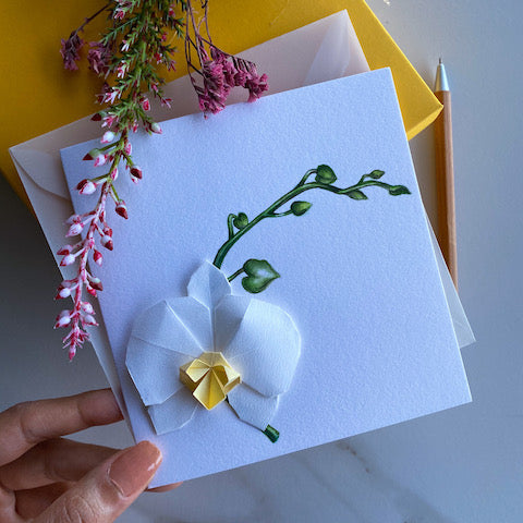 Chic Handmade Greeting Card