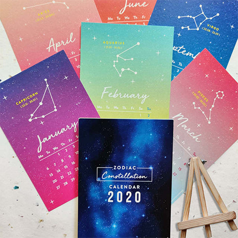 Constellation Calendar 2020