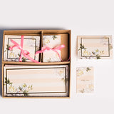 Summer Blooms Floral Box Set - Peach