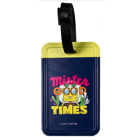 Mister Good Times (Spongebob Squarepants) Luggage Tag