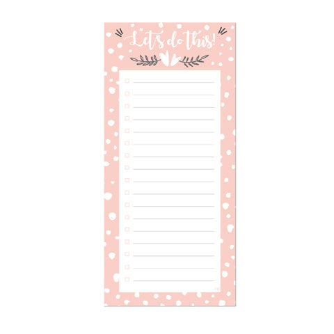 Peach Candy To do list