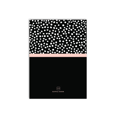 Chic Bubbles Notebook | A5 Size (RULED)