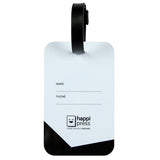 Certified Travel Addict Luggage Tag