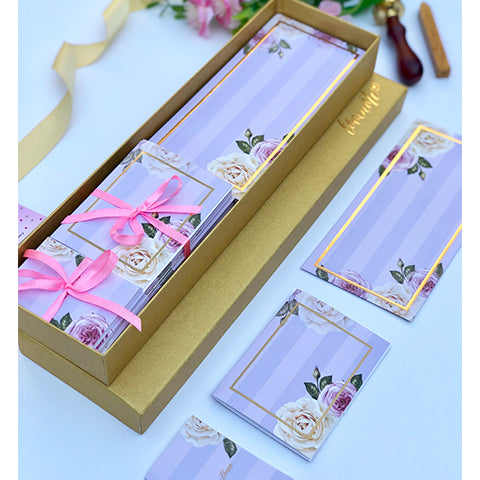 Summer Blooms Floral Box Set - Lilac