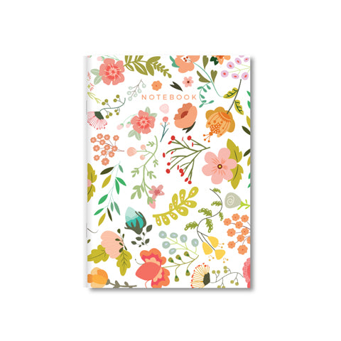 Wild Floral A5 Notebook