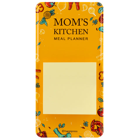 Mom's Kitchen Magnetic Memo Pad