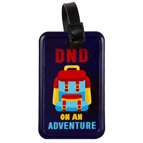 The Adventurer Luggage Tag