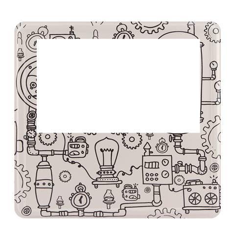 Steam Punk Magnetic Photoframe