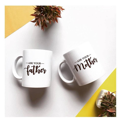 Parents Coffee Mug Set