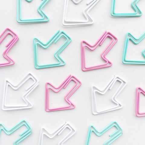 Eye Candy Arrow Paper Clips | Set of 12