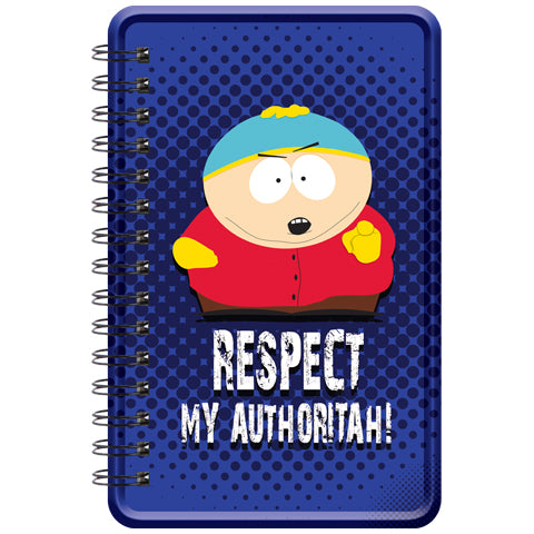 Respect My Authoritah (South Park) Metal Notebook
