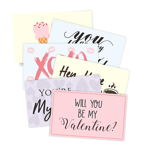 Love Letter Prompts Notecards