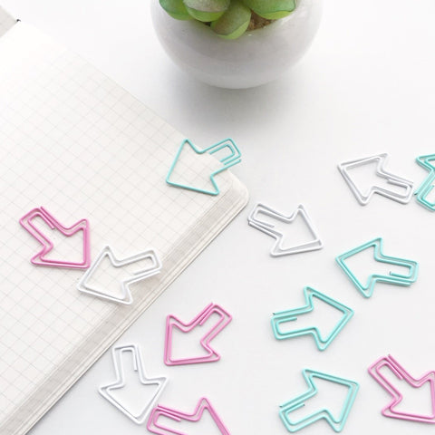 Eye Candy Arrow Paper Clips | Set of 6