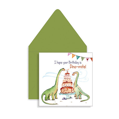 Dino-mite Greeting Card