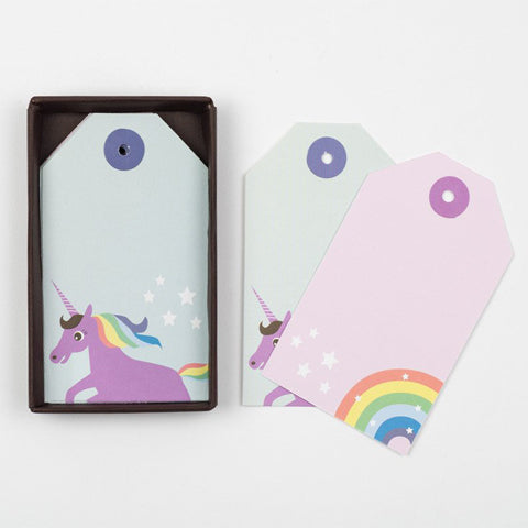Rainbow Unicorn Gift Tags