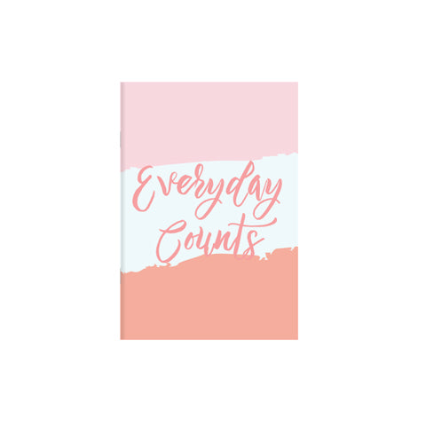 Everyday Counts A5 Notebook