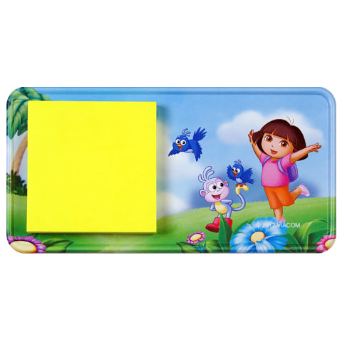 Dora and Boots (Dora the Explorer) Magnetic Memo Pad