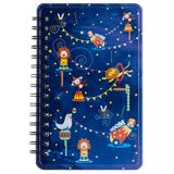 Circus Of Life Metal Notebook