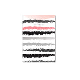 Fierce Stripes A4 Notebook