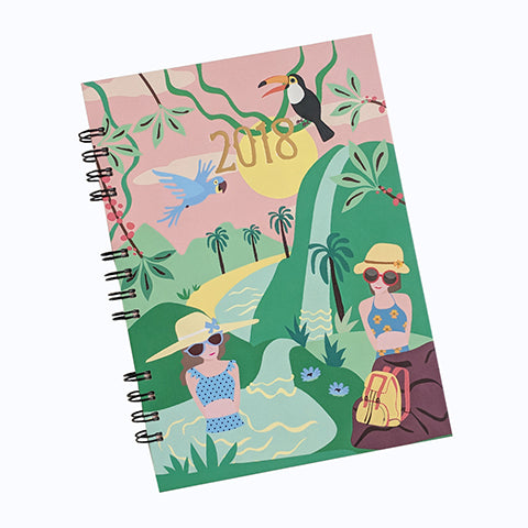 Tropical Adventure 2018 Planner