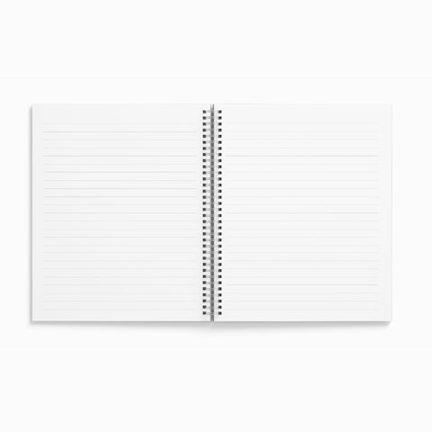 Chill Out square Spiral Notebook