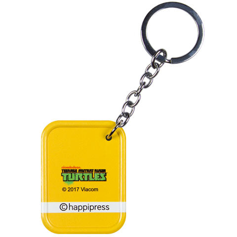 Michaelangelo Orange (TMNT) Metal Keychain