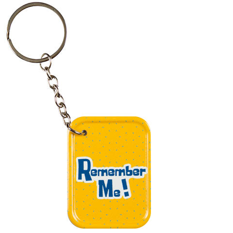 Never Forget Metal Keychain
