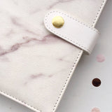 Premium Marble Leather Journal Notebook | Mixed Pages